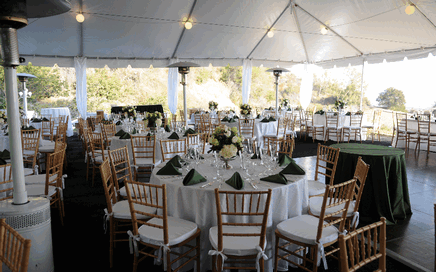 Arcadia Party Rentals Tables Chairs Linens Canopies Monrovia Pasadena California